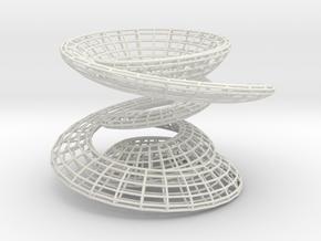 Shapeways in White Natural Versatile Plastic