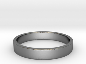Simple and Elegant Unisex Ring | Size 6 in Polished Silver