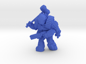 """Gul'shoomok, a.k.a. """"Sherman,"""" Scilinoid Soldier in Blue Strong & Flexible Polished"""