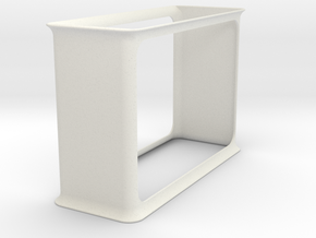 File Hanger in White Natural Versatile Plastic