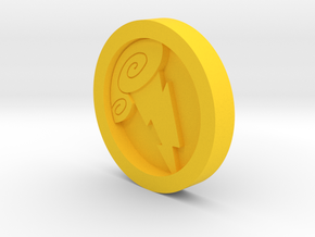 Hercules Medal - Coin in Yellow Processed Versatile Plastic