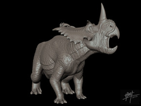 Coronosaurus/Centrosaurus brinkmani 1/72 in White Strong & Flexible