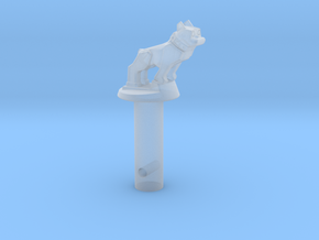 Bull-spring-pin in Smooth Fine Detail Plastic