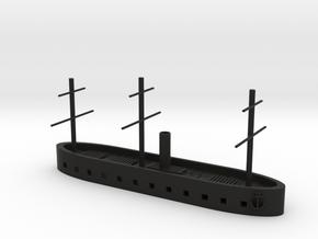 "1/600 CSS 1861 (""North's Ironclad""); HMS Danmark in Black Natural Versatile Plastic"