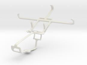 Controller mount for Xbox One & Acer Liquid E3 in White Natural Versatile Plastic