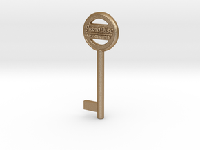 PianoDisc Key 1 in Matte Gold Steel