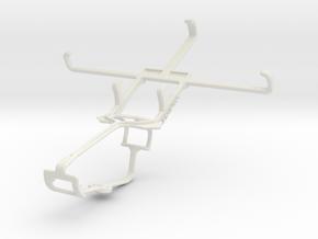 Controller mount for Xbox One & Alcatel Pop Icon in White Natural Versatile Plastic