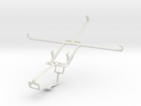 Controller mount for Xbox One & Alcatel POP 7S in White Natural Versatile Plastic