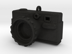 CameraPendant in Black Acrylic