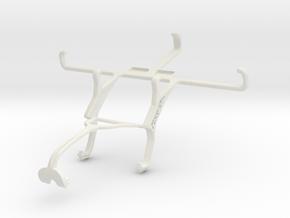 Controller mount for Xbox 360 & BLU Studio C Mini in White Natural Versatile Plastic