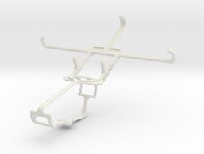 Controller mount for Xbox One & Gigabyte GSmart GX in White Natural Versatile Plastic