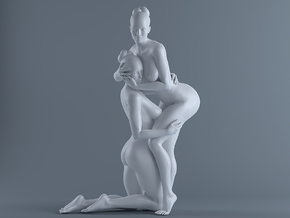 Sexy Girl-024 scale 1/12 Passed in White Strong & Flexible Polished