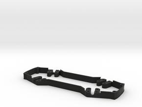 ZMR250 Full Spacer LED Mount in Black Natural Versatile Plastic