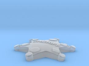 RIU Badge 01 in Smooth Fine Detail Plastic