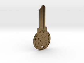 Empire House Key Blank - SC1/68 in Natural Bronze