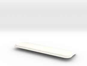 Superliner Rear Window in White Processed Versatile Plastic