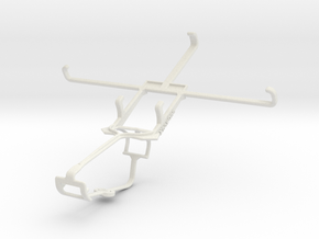 Controller mount for Xbox One & Maxwest Gravity 6 in White Natural Versatile Plastic
