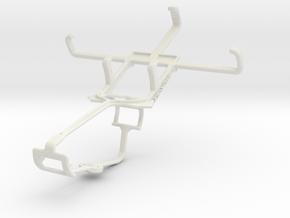 Controller mount for Xbox One & NIU Niutek 3.5D2 in White Natural Versatile Plastic