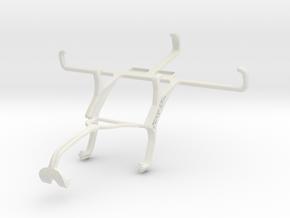 Controller mount for Xbox 360 & NIU Niutek 4.5D in White Natural Versatile Plastic