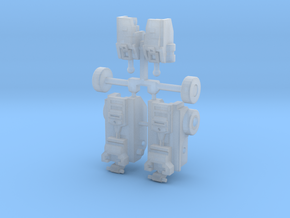 Legend Prime Articulated Legs in Smooth Fine Detail Plastic