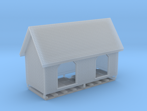 HO PEIR 1902 Flag Station As Built in Smooth Fine Detail Plastic