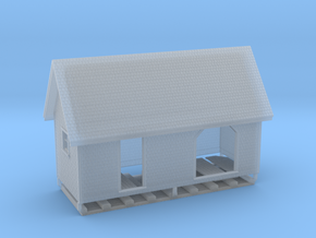 HO PEIR 1902 Flag Station Colville As Upgraded in Smooth Fine Detail Plastic