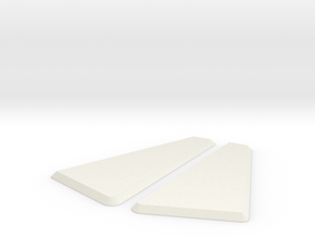 "Jodocast's Stock Side Fill Plates For ""Worker"" Sto in White Natural Versatile Plastic"