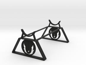 Jedi Saber Stand in Black Natural Versatile Plastic