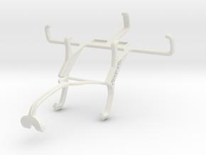 Controller mount for Xbox 360 & Sony Xperia E1 dua in White Natural Versatile Plastic