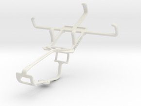 Controller mount for Xbox One & Sony Xperia E1 in White Natural Versatile Plastic