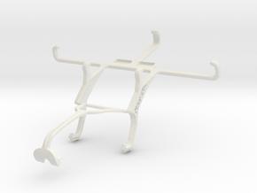 Controller mount for Xbox 360 & Sony Xperia E3 Dua in White Natural Versatile Plastic