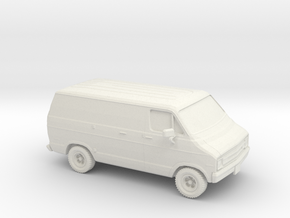 1/87 1976 Dodge Ram Van in White Strong & Flexible