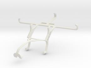 Controller mount for Xbox 360 & Sony Xperia Z3 Dua in White Natural Versatile Plastic