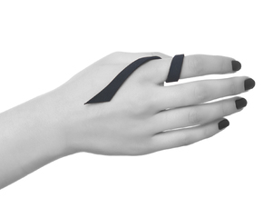 Kimberly Ovitz - Squama Ring in Black Strong & Flexible