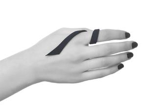 Kimberly Ovitz - Squama Ring in Black Natural Versatile Plastic