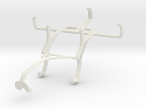 Controller mount for Xbox 360 & Yezz Andy 3.5EI in White Natural Versatile Plastic