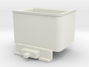 Godchaux 0-4-4T Coal Bunker for Minitrix 0-4-0 Tan in White Natural Versatile Plastic