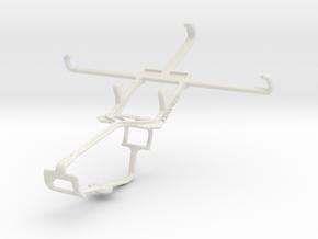 Controller mount for Xbox One & ZTE Nubia Z7 mini in White Natural Versatile Plastic