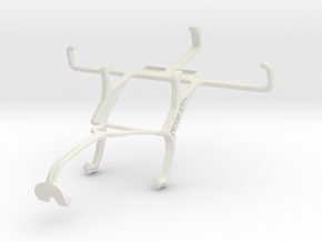 Controller mount for Xbox 360 & ZTE Open C in White Natural Versatile Plastic