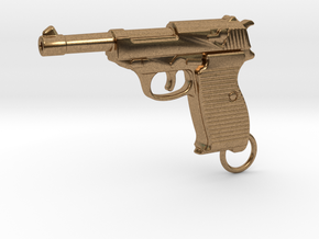 WALTHER P38 in Natural Brass