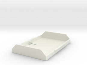 LP-E6 Battery Cover for Canon 5D, 7D in White Natural Versatile Plastic