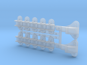 GWR ATC Ramp Brackets in Smooth Fine Detail Plastic