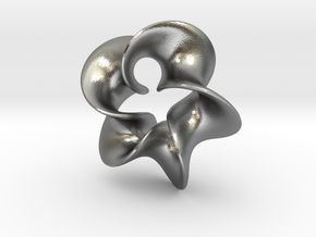 Star Flower 2 in Natural Silver