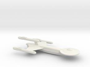 USS Ocean in White Natural Versatile Plastic