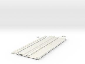 Hidden Blade in White Natural Versatile Plastic