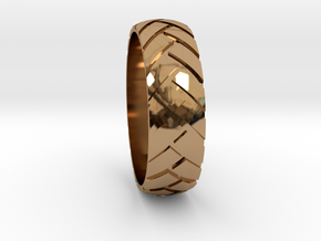 Notire)) Sz12 in Polished Brass