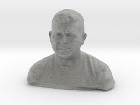 Will Howell - resculpt in Metallic Plastic