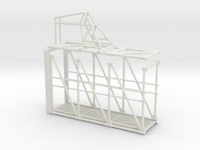 Apollo Crew Access Arm 1:12 in White Natural Versatile Plastic