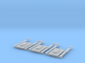 PTC Equipment HO Scale X3 in Smooth Fine Detail Plastic