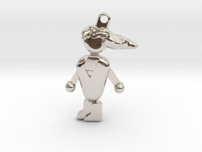 PCMR Keychain in Platinum